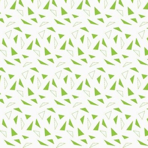 green triangles