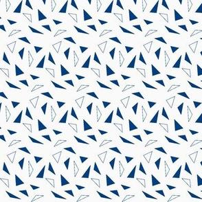 dark blue triangles