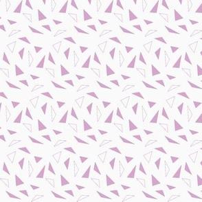 lavendar triangles
