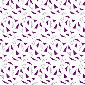 dark purple triangles