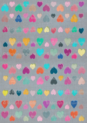Little Happy Hearts - small version