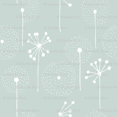 Scandinavian dandelion flower blossom garden summer fall mint