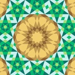 decagon rose : serenity palette