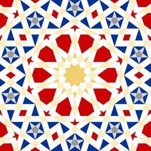 decagon stars : UK palette