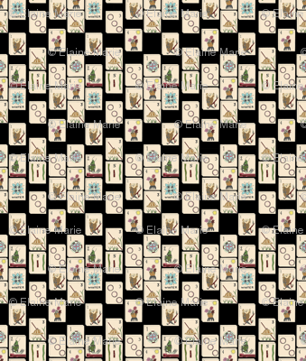 Majong Tile Cloth