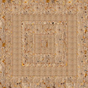 Handmade Paper Quilt Square