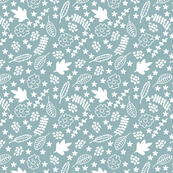 Winter Garden Teal