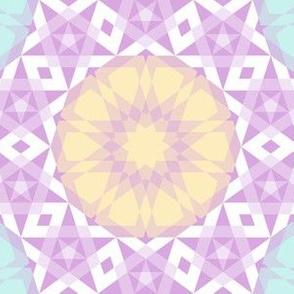 decagon rose : stars palette