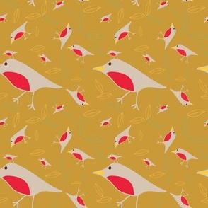 Flowing Birds
