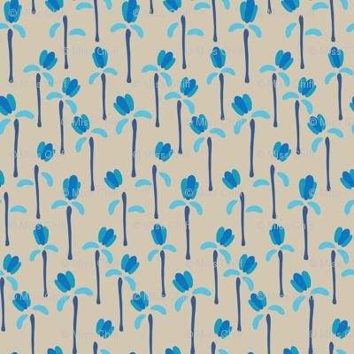 16-06V Folk Blue Bells_Miss Chiff Designs