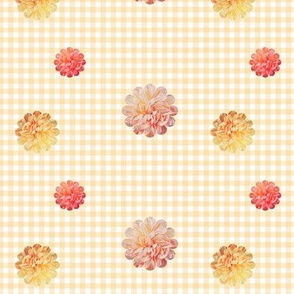 Gingham Rose Picnic