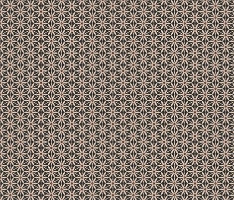 Tosca Skinny Daisies Custom Fabric fabric by spatialh on Spoonflower - custom fabric
