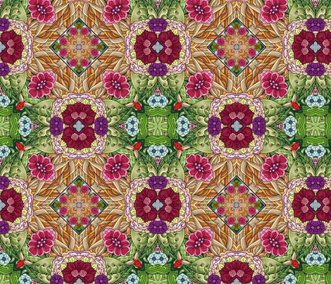 Japanese garden i wallpaper janbalaya spoonflower for 50ft garden design