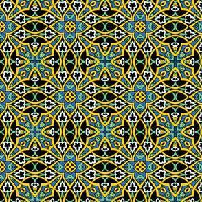 Arabesque Garden Tile