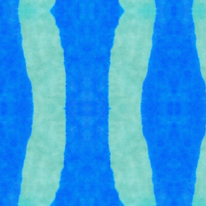 blue-green stripes