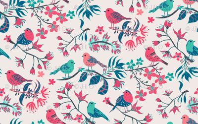 Birds and Blossom Original