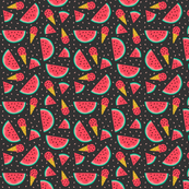 Watermelon summer party black (small)