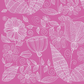 Floribunda in Pink