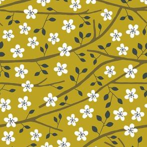 Jungle Tree blossom mustard