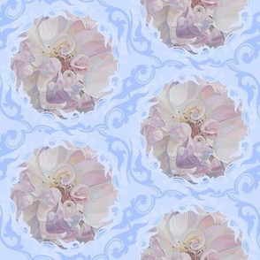 Painted Flower Damask