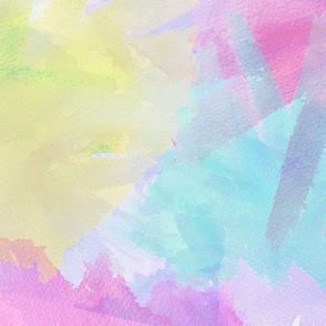 Bright Watercolor Splashes
