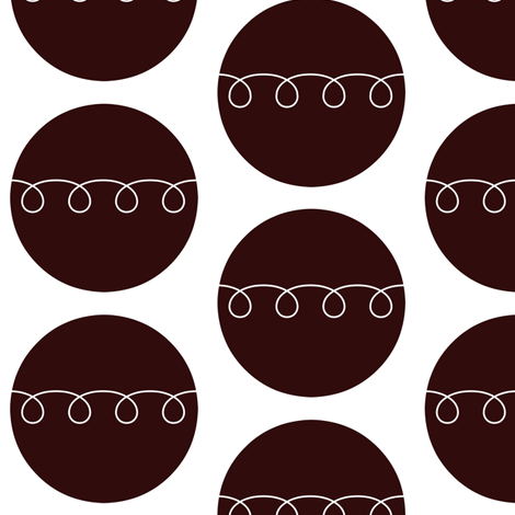 Cupcakes fabric by sunshineandspoons on Spoonflower - custom fabric