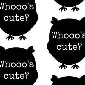 Whoooo's Cute?
