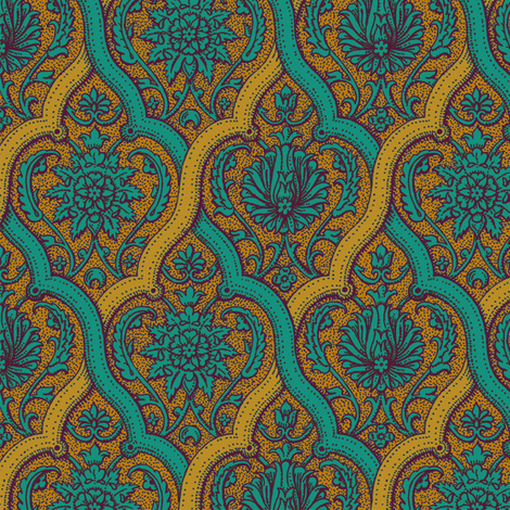 Serpentine 921e fabric by muhlenkott on Spoonflower - custom fabric