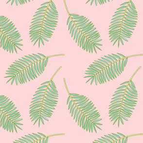 Palm Fronds (Pinky)