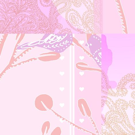 Sweet Garden Patchwork fabric by perrodimeshift on Spoonflower - custom fabric