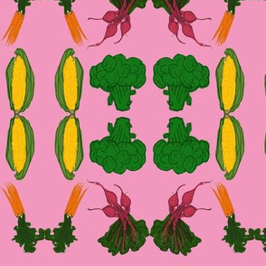 Pink Vegetable Patch