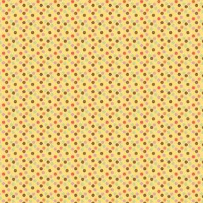 Peach Collection Dots