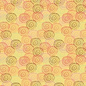Peach Rosettes