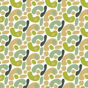 Green Camel Folk Abstract_Miss Chiff Designs