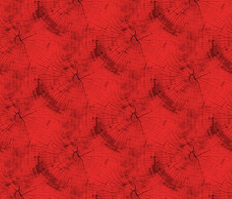 Tree Rings - Red fabric by judisjems on Spoonflower - custom fabric