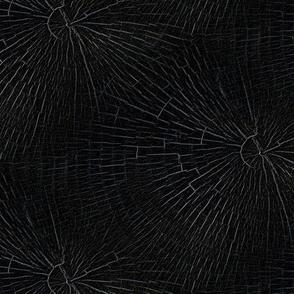Tree Rings - Subtle Black