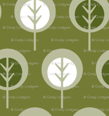 Trees in Olive