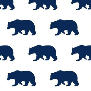 Navy Bear medium
