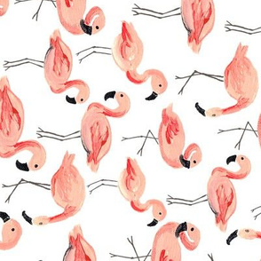 Flamingo Party (Large/Rotated)