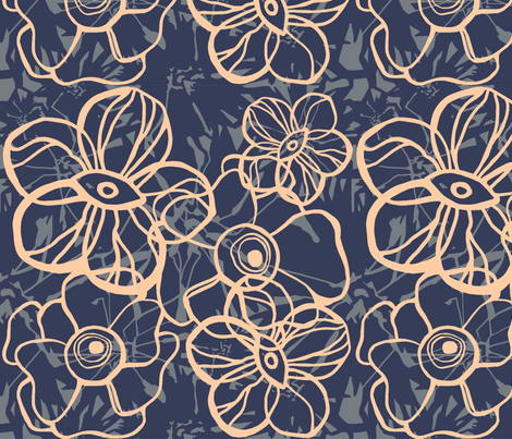 Shattered fabric by anikoch on Spoonflower - custom fabric