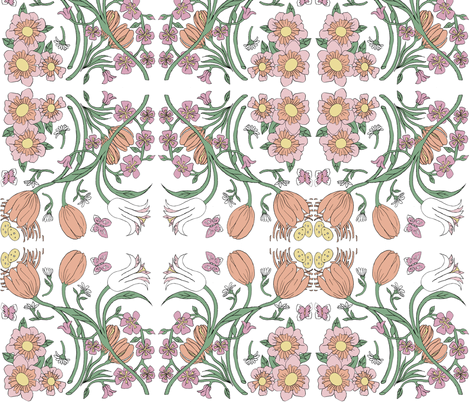 Country Garden Gifts Spring Collection fabric by caroline_bosker on Spoonflower - custom fabric