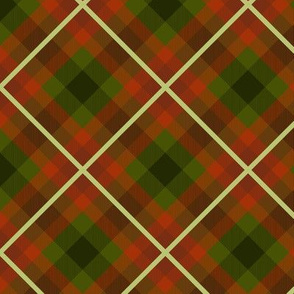 70s couch plaid