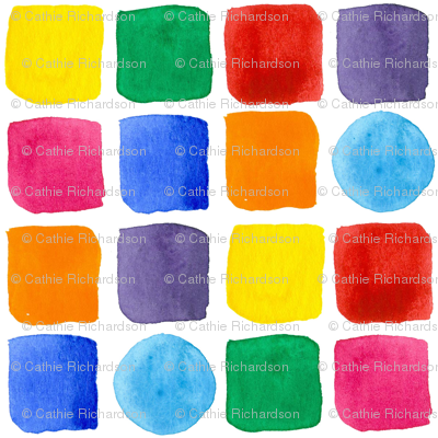 Primary Color Shapes