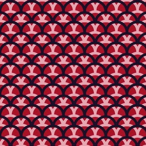 Overlapping Waves (red variant)