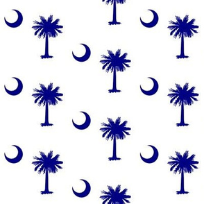 South Carolina [Blue & White]