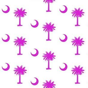 South Carolina [Hot Pink & White]