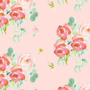 Soft Roses - Pink