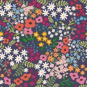 Spring flowers Dark