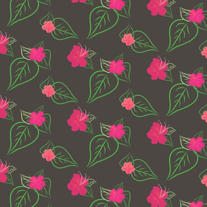 SS2017-0046-tropical_hibiscus_mixed_leaves-_REPEAT-75_