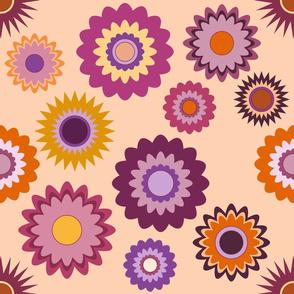 Purple Mustard - Flowers